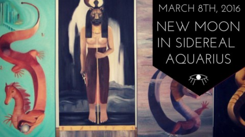 Sidereal Astrology: New Moon in Aquarius, March 8, 2016 & Spring Equinox