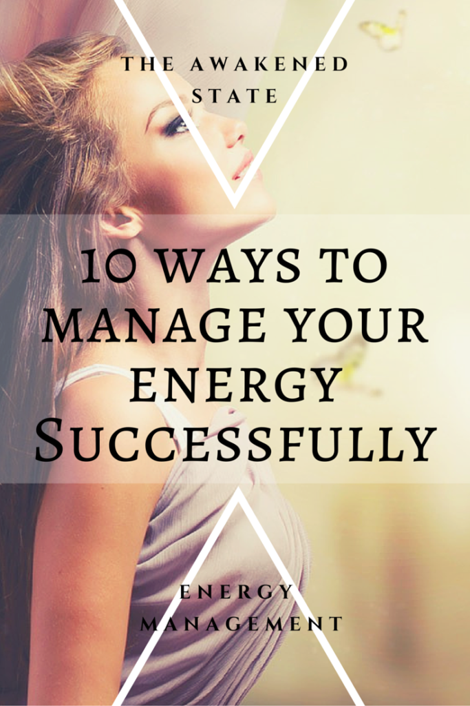 manage your energy successfully