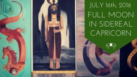 Full Moon in Sidereal Capricorn July 19, 2016