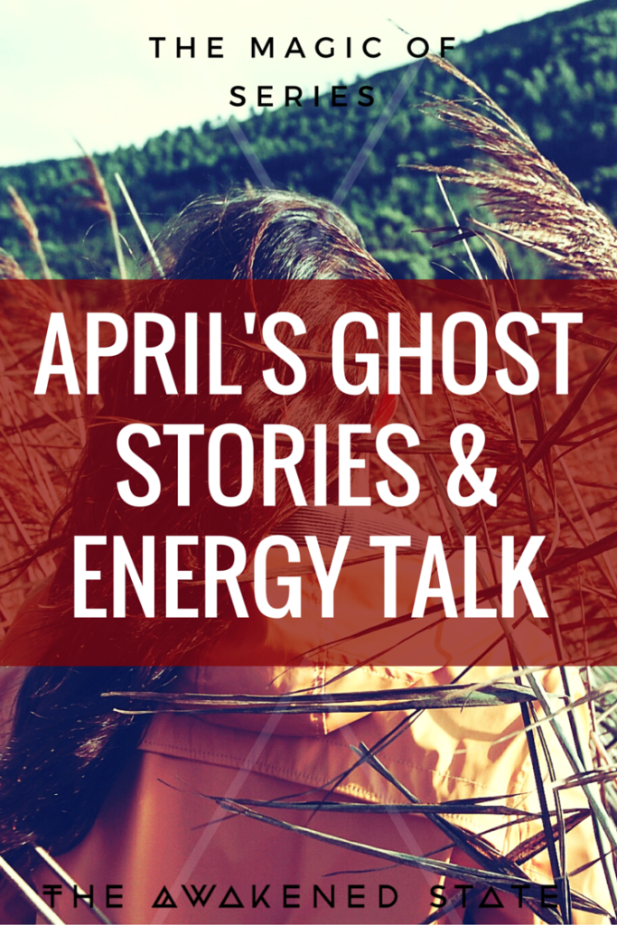 Guest Author April is back with more exotic ghost stories, dream exploration and energy talk. loving this girl's vibe.  Click to Watch!