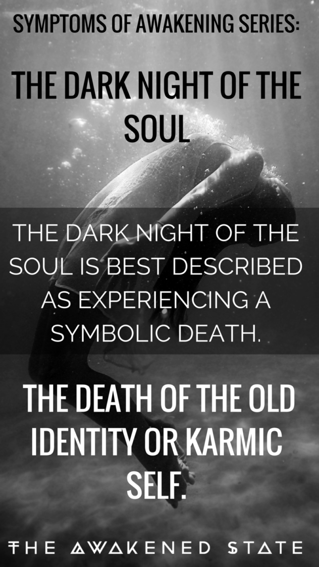 Going into the Abyss: Dark Night of the Soul - Fear is actually one of our best cosmic teachers on the path because it allows us to see ourselves from the inside out. The dark night is actually a precursor towards spiritual awakening but it can be revisited when we go through a deep transition period. Read More Here