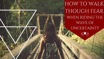 HHow to Walk Through Fear - The Awakened State. In most cases Energy Shifts really can throw us off our element. They can bring up hidden emotions, anxiety, sudden fear of death, ascension symptoms, but most of all they underline Fear. How do we walk through fear when riding the wave of uncertainty? Click to Read More!