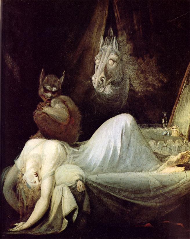 The Nightmare by Johann Heinrich Füssli