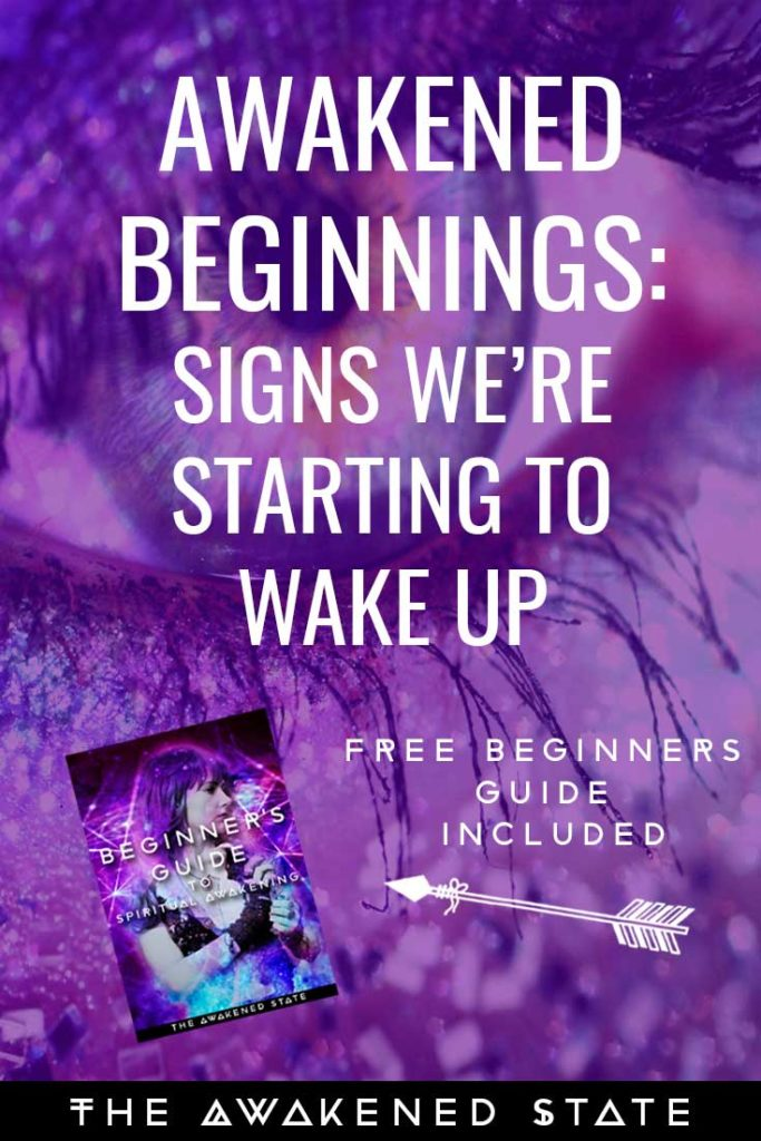 Awakened Beginnings is a Beginner series I decided to make for those just starting on the path. It will be devoted to whoever needs a helping hand on their journey. This is a big part of what I believe in: educating spiritual awakening, understanding the process and developing the right tools to navigate through these changes successfully. These are some of the beginning signs we start showing when we're entering the process of spiritual awakening. Read more to find the free Beginner's guide to help you if you are new to the path <3