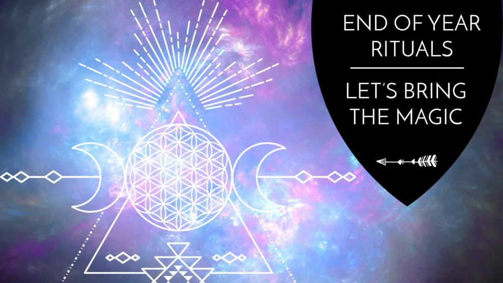 Rituals to end the year on a high note! - The Awakened State.