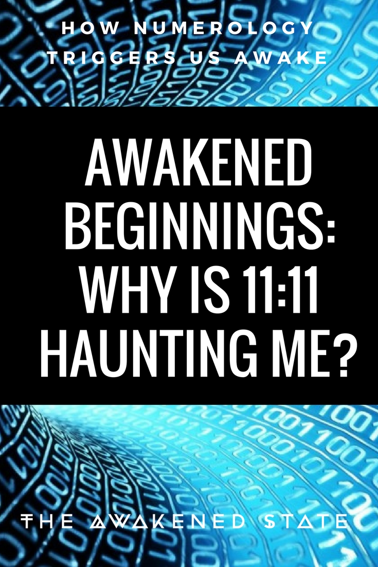 Today's topic goes into Numerology and Why I believe we're experiencing these shifts in awareness. Many in the beginning of the path will come to me asking why the numbers are haunting them. Let's go into it!