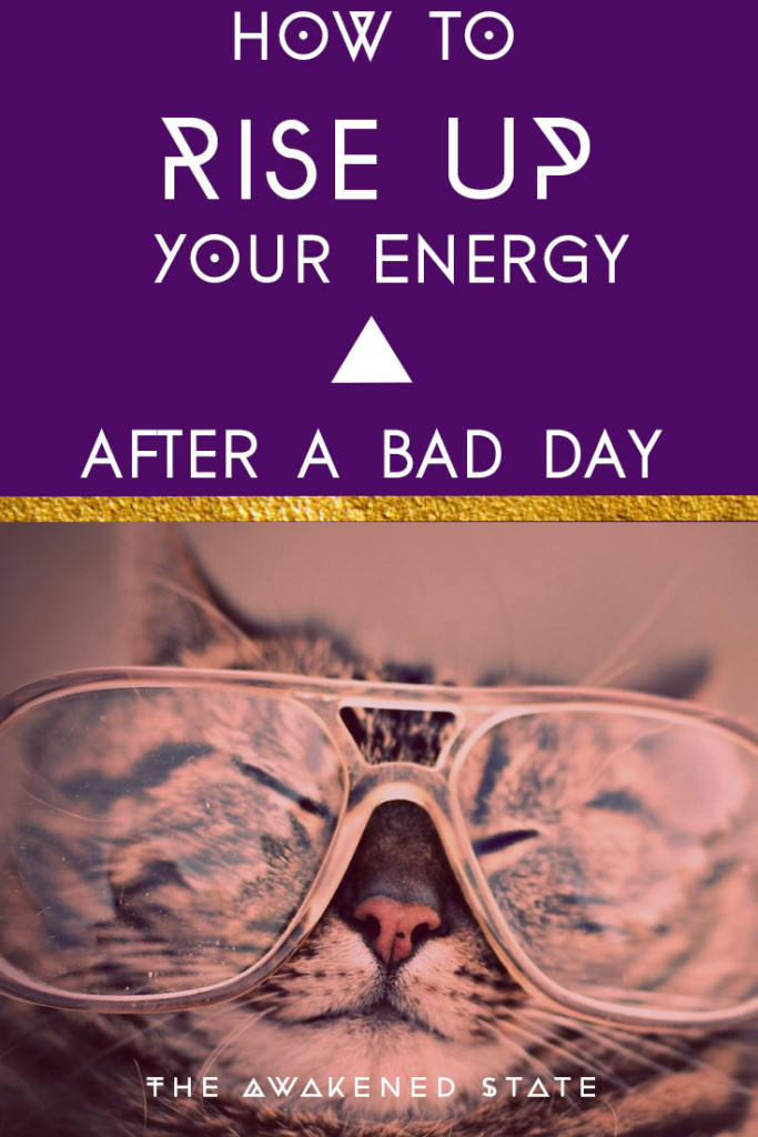 Today I would like to share a special post on what to do after you're stuck in a bad mood and need help raising your vibrations. Toxic relationships, arguments and negative comments happen to all of us so what do we do after we're stuck in an energetic funk? Here's some tips and tricks to help you when you need it most. (p.s. I added a happy kitty to help you too ;) ) Enjoy <3