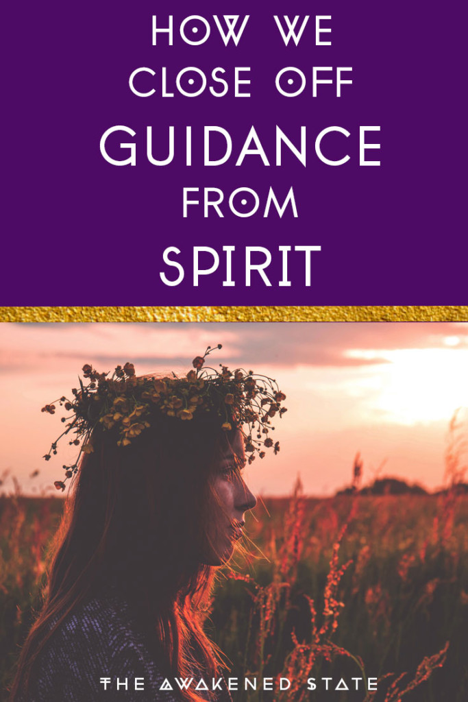 "Today I'd like to talk about the concept of how we close off guidance from spirit. In the past I've been the arrogant girl saying ""well I know that already"" and then turn the other cheek. However I've found that this type of thinking is absolute sabotage towards our spiritual transformations. In towards article I go deep into the Why we can cut ourselves off from guidance and how to get back into alignment. Check it out and let me know your thoughts in the comments!"