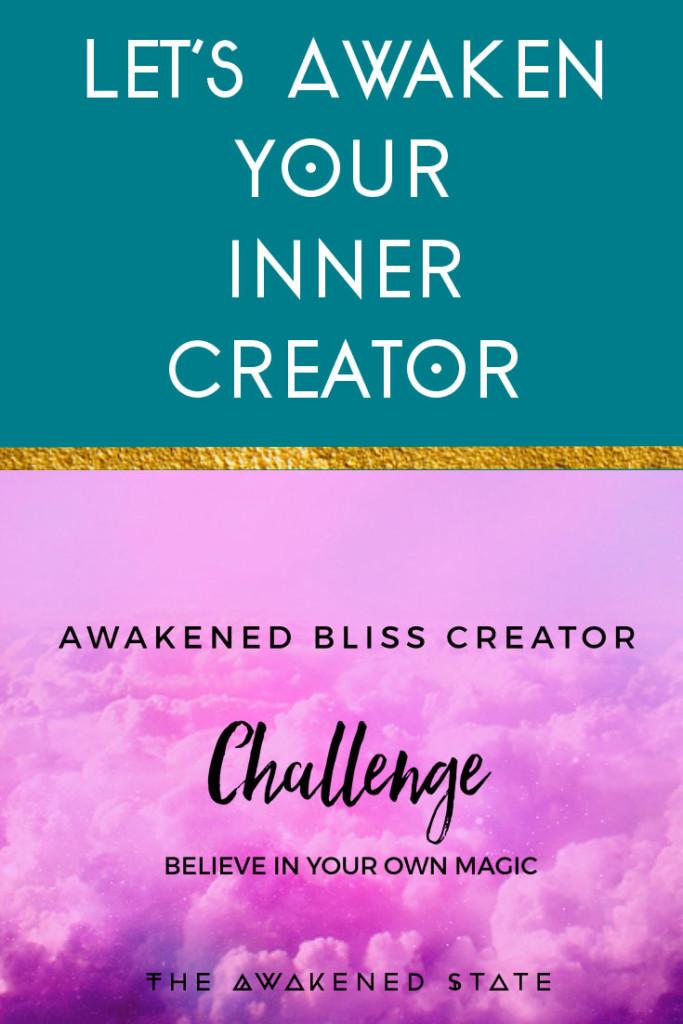 Try the Awakened Bliss creator FREE 30 Day Challenge!!!!