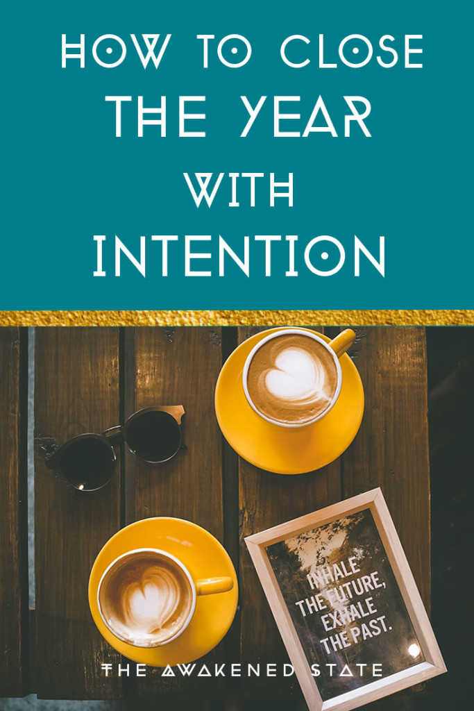 How to Close the Year with Intention (FREE WORKBOOK) It is a time to create a sacred pause, a rest and reflect. Let's close out the year with getting intentional with our desires. This is my favorite way to end the year as it helps us witness our transformations we've went through all year. Let this Closure ritual serve you for the highest good
